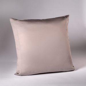 federa decorativa quadrata raso grigio lounge