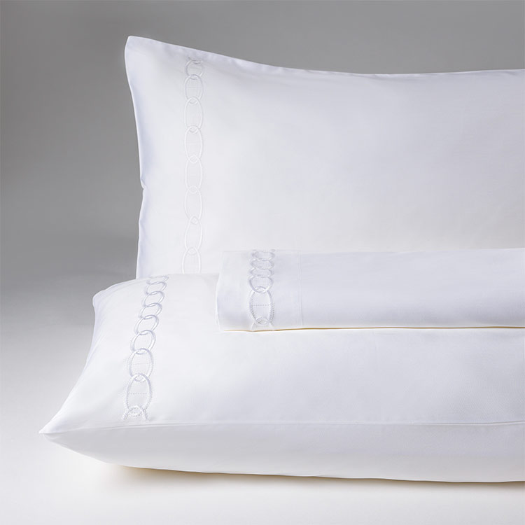 parure lenzuola matrimoniale bianco