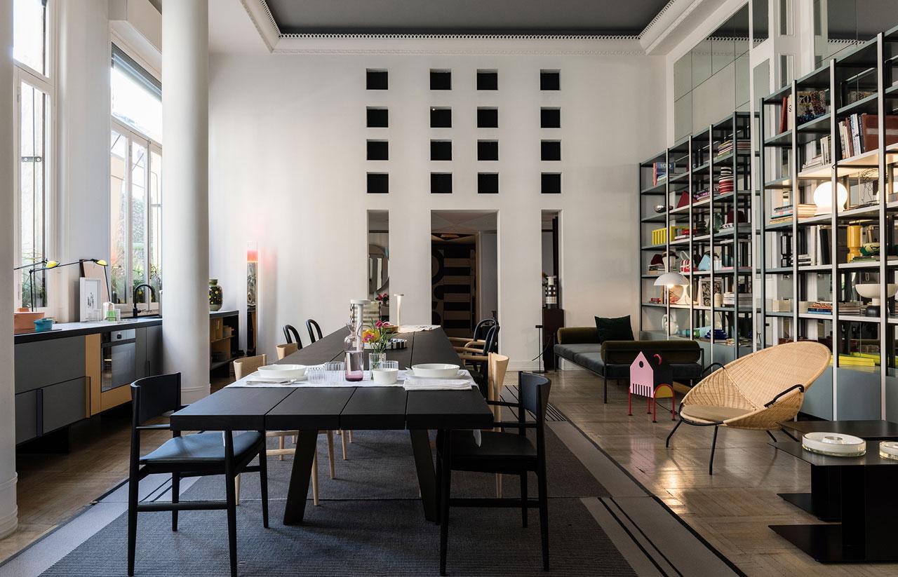 Rivolta Carmignani ispirazioni The Apartment by Elle Decor tavola