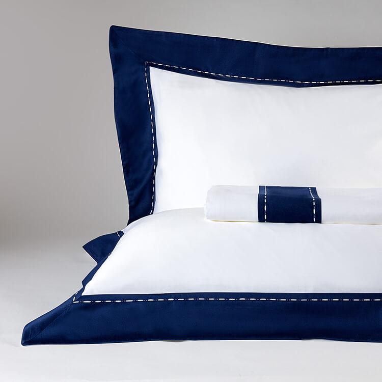 parure lenzuola blu ecurie d angers