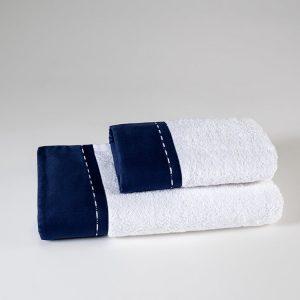 set asciugamani blu ecurie d angers
