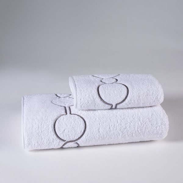 set asciugamani rosa shangri-la