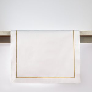 sateen gold runner