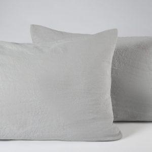 Plaza pari pillow cases grey