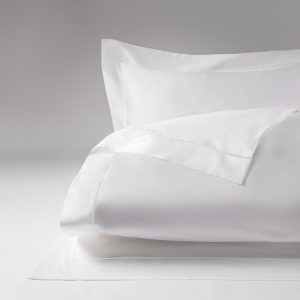 Relais duvet cover white